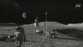 Washington Post уточнила, почему американцы не могут вернуться на Луну