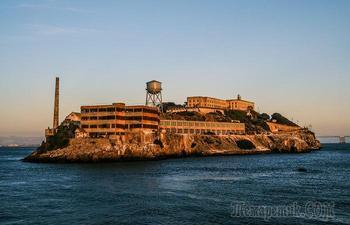 7 фактов об Алькатрасе, стоимость содержания заключенного в котором равнялась проживанию в роскошном отеле