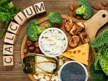 В каких продуктах содержится много кальция — список продуктов