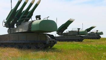Украинская армия провела тренировки «Буков» у границы с Крымом