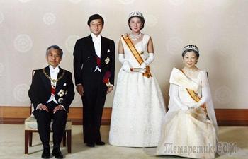 Странноватые факты о японской императорской семье