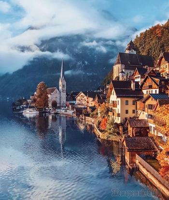20 роскошных фотографий, на которых запечатлена золотая осень в разных городах мира
