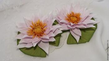 Красивейшие водные лилии из фоамирана