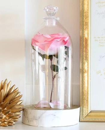 Красивая роза в футляре своими руками
