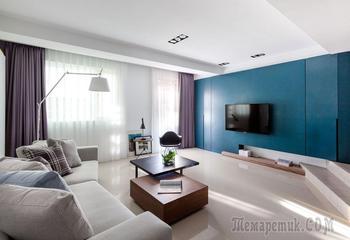 Стильный интерьер двухкомнатной квартиры