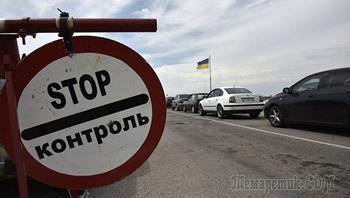 На въезде в Крым с Украины образовались километровые очереди