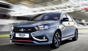 Lada Vesta Sport 2018 – заряженный седан Лада Веста Спорт