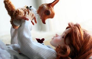 Очаровательные инопланетяне и симпатичные куклы напечатанные на 3D-принтере
