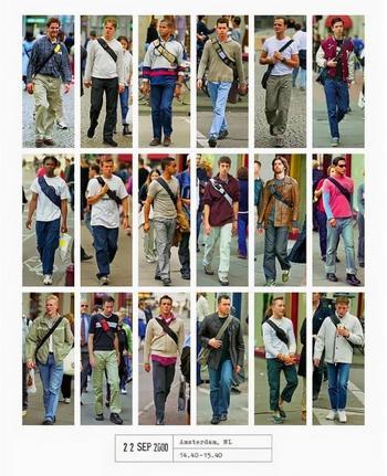 Люди XXI века: фотограф 20 лет документирует модные тренды, фотографируя людей по всему миру