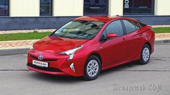 И щёки Дарта Вейдера: тест-драйв Toyota Prius IV