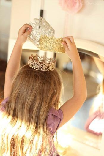 Корона для маленькой принцессы