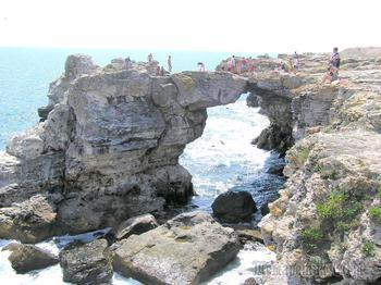 Болгарское побережье Черного моря 3. Тюленово - скалистый рай на Черном море