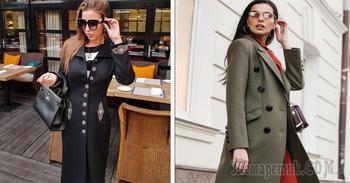 Модные пальто кэжуал на осень 2019: 30 восхитительных фотообразов