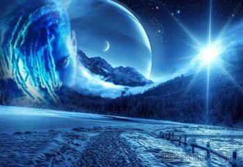 - Всё верно, эта планета нам чужая.