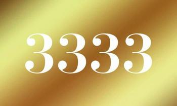 Что означают повторяющиеся цифры 3333?