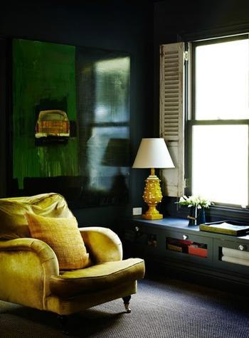 Идеи бархатной мебели в интерьере