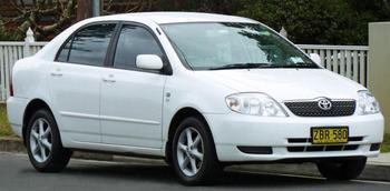 """Обзор автомобиля """"Тойота Королла"""" (120 кузов)"""