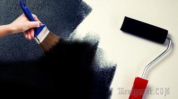 2 способа, как сделать черную краску в домашних условиях