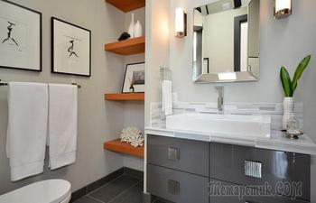 10 идей, как изменить облик ванной комнаты, приложив минимум усилий