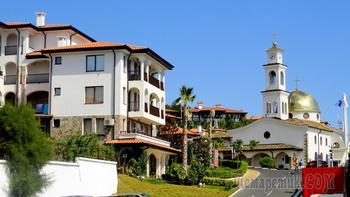 Болгарское побережье Черного моря 28. Курорт Святой Влас 1-вая часть
