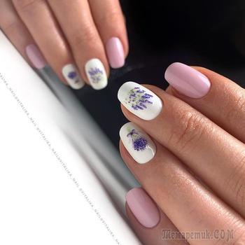 Цветы на ногтях: 20 красивых идей для нежных дам