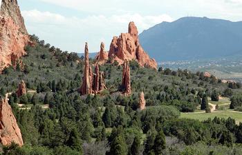 Сад Богов: уникальный природный парк в штате Колорадо