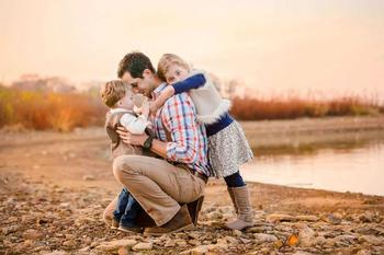 Лучшие работы фотоконкурса «Отец и дитя»