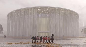 Грандиозный «водно-бамбуковый театр»: Еще до открытия китайский проект признали красивейшим в мире