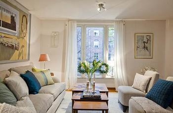 Элегантная простота в дизайне интерьера квартиры в Стокгольме