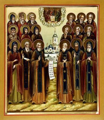 Собор Радонежских святых: история установления и фото