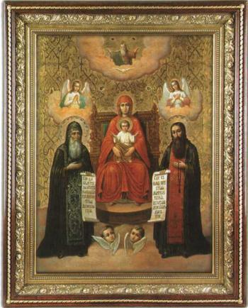 Описание иконы Печерской Божией Матери и храм в ее честь