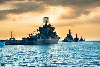 Морской щит: Россия разворачивает у берегов Сирии крупнейшую группировку боевых кораблей (ИНФОГРАФИКА)
