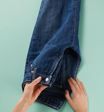 Как сделать шорты из старых джинсов