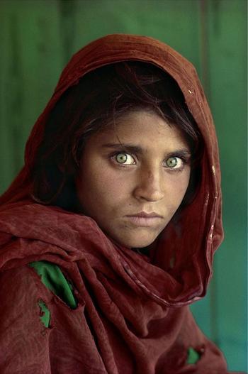 Легендарный мировой фотограф Стив Маккарри и его работы