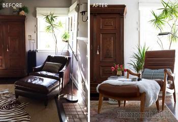 До и после: как сделать гостиную для семьи с детьми более современной