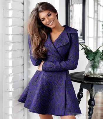 С чем носить модное платье-пальто: 20 элегантных образов