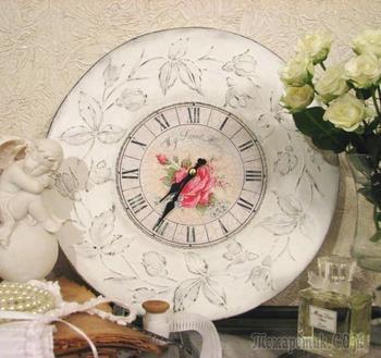 Декупаж часов: идеи для создания стильного и эксклюзивного предмета интерьера