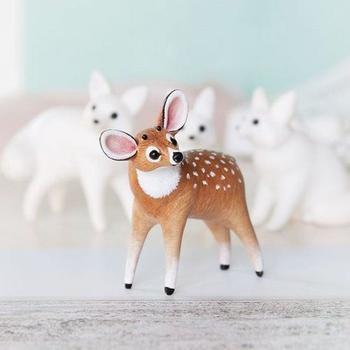 Мини-скульптуры животных из полимерной глины