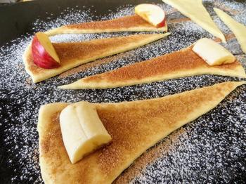 Рецепт из старенькой бабушкиной тетрадки / Хоть с бананами, хоть с яблоками!