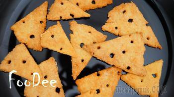 Сырное печенье из 3 ингредиентов