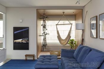 Уютная семейная квартира в Бразилии