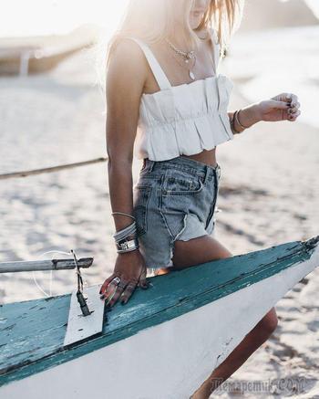 Пляжный стиль в модных блогах: лето 2019