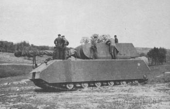 Как в Германии пытались создать самый большой танк для Гитлера, а получился самый бесполезный