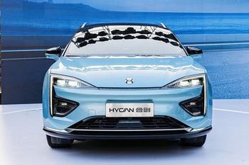 Hycan 007 2020 — электрический кроссовер от марок GAC и NIO