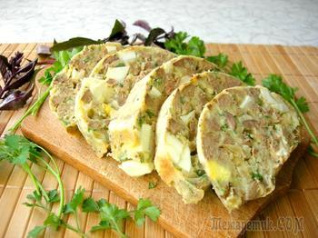 Румынский дроб из куриной печени