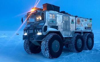 Вездеход «Бурлак»: лучшая машина для снежных пустынь