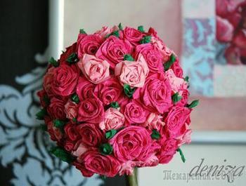 Создаем сами прекрасное «Розовое дерево»