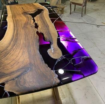 Невероятные столы с эпоксидной смолой