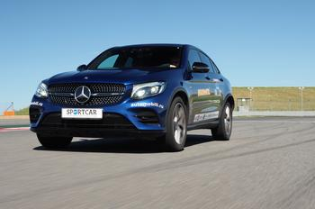 Не только для девочек: трек-тест Mercedes-AMG GLC 43 Coupe