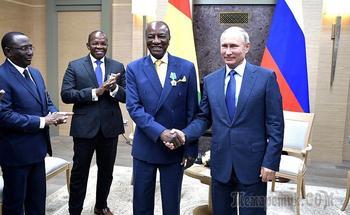 Что Путин приобрел для России в Африке за 20 млрд долларов? Африку
